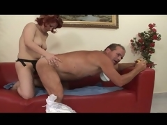 Bizarre adult diaper fetish for hot milf
