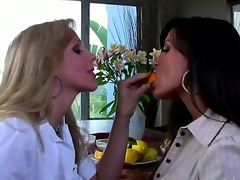 have a fun lesbo love of 2 beautiful matures Julia Ann and Lisa Ann