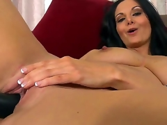 Luscious MILF Ava Addams has a sizzling body with big natural breasts, astounding gazoo and a moist twat. This time around, Ava acquires lewd and begins inserting a dark sextoy into her dripping love hole.