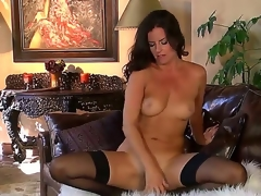 Stunning milf Kobe Lee loves to jill her axilla and cum, 'cuz she tries to receive entirely satisfied. Her husband has a huge cock, but he can't give her so much fun