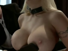 Candy Manson returns to porn after a two year break to do her First anal sex scene whilst in bondage!  In this role play update, Candy is in a D/s relationship with husband Mark
