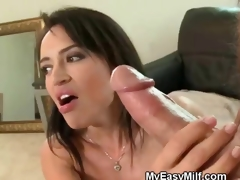 Oral job WIth Wicked MILF