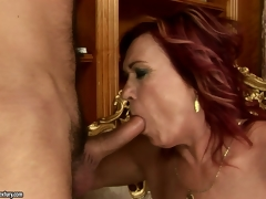 Hard cock enters that vaginal cavity with such a nice popping sounds