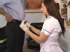 Upper class brit jerking pulled studs dick