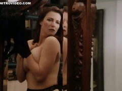 World's Hottest MILF Mimi Rogers Shows Her Massive Natural Knockers